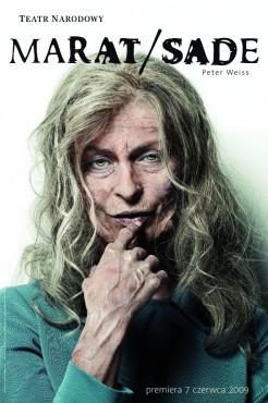 """Peter Weiss """"Marat/Sade"""", reż. Maja Kleczewska. Teatr Narodowy, premiera 7 czerwca ... - 0019406b"""