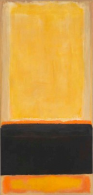 Mark Rothko, No. 4 (Yellow, Black, Orange on Yellow/ Untitled), 1953 / Whitney Museum of American Art, New York. © 1998 Kate Rothko Prizel & Christopher Rothko ARS, NY and DACS, London.