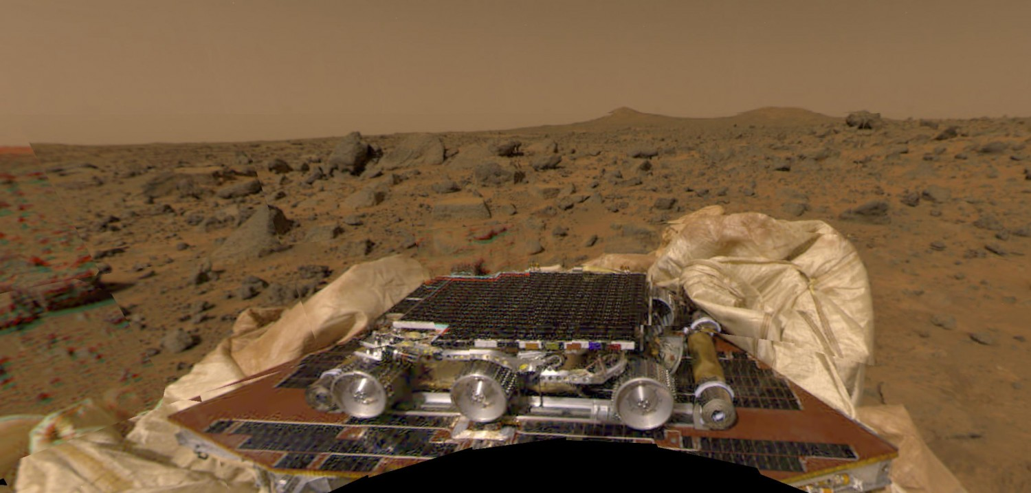 Mars Pathfinder / fot. NASA, Wikimedia Commons