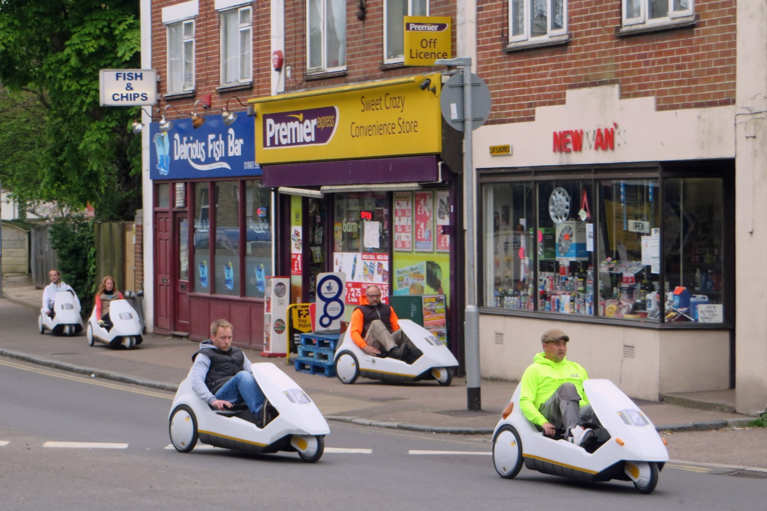 Sinclair C5/fot. Diamon Geezer, CC BY-NC-ND 2.0
