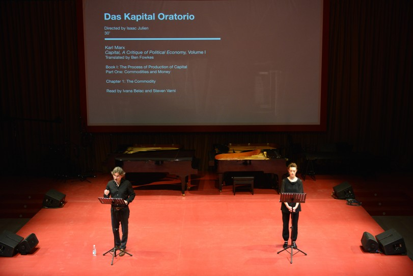 Isaac Julien  DAS KAPITAL Oratorio / Photo by Andrea Avezzù Courtesy: la Biennale di Venezia