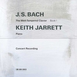 Keith Jarrett, J.S. Bach The Well-Tempered Clavier Book I, ECM 2019