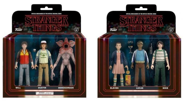 "Figurki ""Stranger Things"""