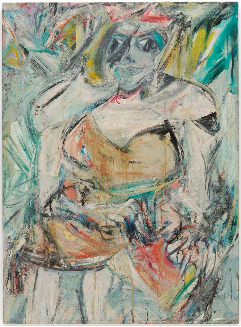 Willem De Kooning, Woman II, 1952 / The Museum of Modern Art, New York. Gift of Blanchette Hooker Rockefeller, 1995 © 2016 The Willem de Kooning Foundation / Artists Rights Society (ARS), New York and DACS, London Photo © 2015. Digital image, The Museum of Modern Art, New York/Scala, Florence.