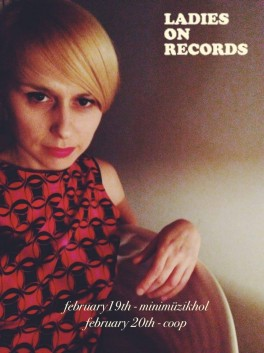 Plakat imprezy Ladies on Records